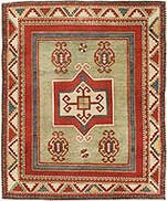 Antique Kazak rugs nazmiyal1 Antique Rug Styles And Designs