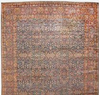 Antique Yazd carpets nazmiyal1 Antique Rug Styles And Designs