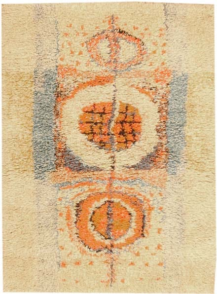 Vintage Scandinavian Rug 42367 Main Image - By Nazmiyal