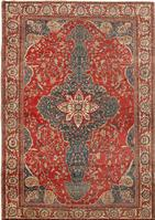 Antique Sarouk Farahan Persian Rug 43470 Color Details - By Nazmiyal