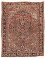 Antique Heriz Serapi Persian Rugs