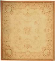 Antique Aubusson French Rug 43632 Color Details - By Nazmiyal