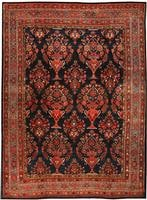 t Antique Bidjar Persian Rugs 435701 Antique Tribal Persian Bidjar Carpet 47494