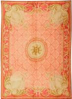 Antique Savonnerie European Rug 3234 Color Details - By Nazmiyal