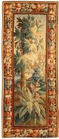Antique Aubusson French Rug 43638 Color Details - By Nazmiyal