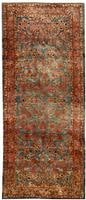 Antique Silk Kashan Persian Rug 43899 Color Details - By Nazmiyal