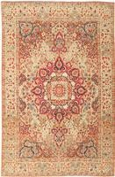 Antique Kerman Persian Rug 43277 Color Details - By Nazmiyal