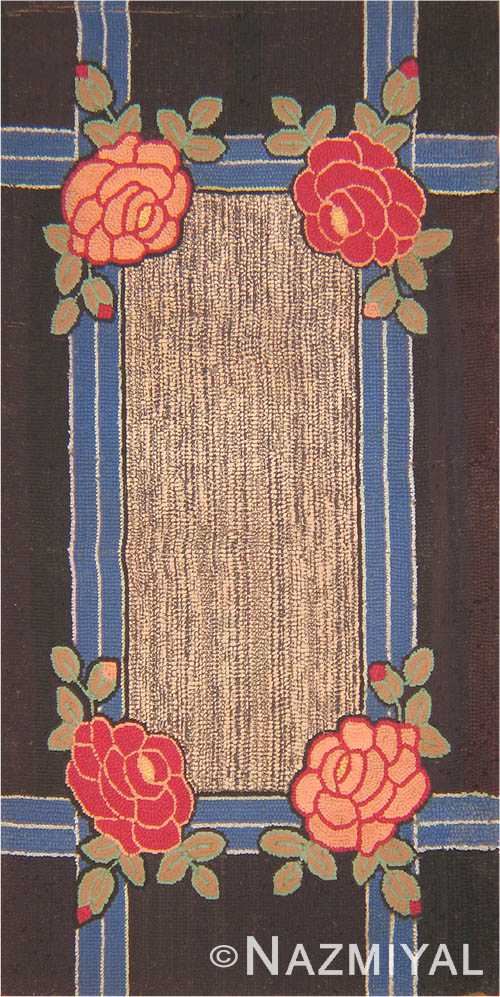 2785 Antique American Hooked Rugs Antique Hooked American Rug 2785