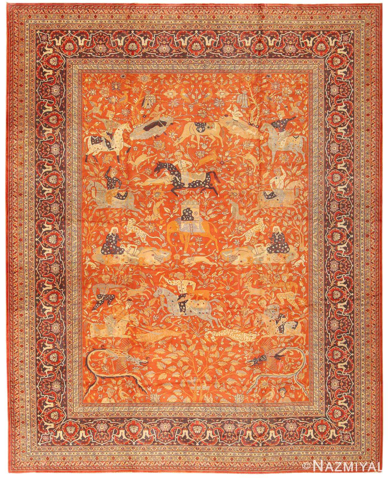 Antique Indian Rugs: Antique Oriental Rug