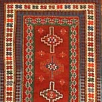 Antique Kazak Caucasian Rug 43818 Thumbnail - By Nazmiyal