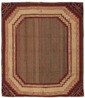 Antique Hooked American Rug 2698 Color Details - By Nazmiyal