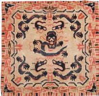 t 44847 Antique Chinese Rug Antique Ivory Chinese Carpet 47467