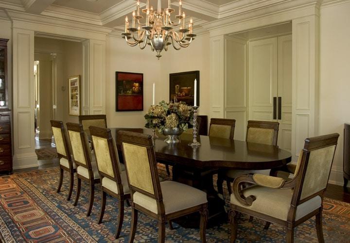 Antique bakshaish rug bakshaish rugs in interior design - Rug dining room and interior ...
