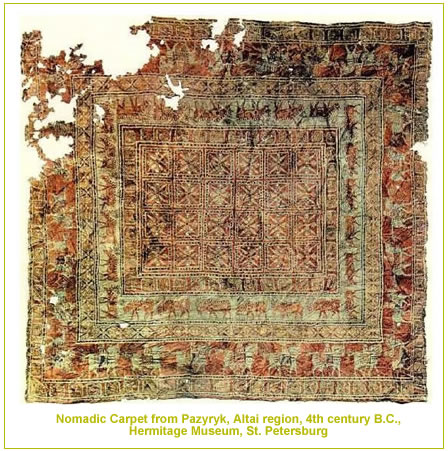 big pazyryk Antique Oriental Rugs   The History