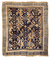 42219 Antique Mahal Persian Rug color Antique Light Blue Persian Sultanabad Carpet 47270
