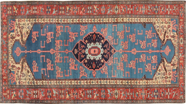What do the names that dealers use for Persian carpets mean?