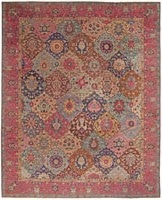 Antique Indian Rug 45206 Color Details - By Nazmiyal