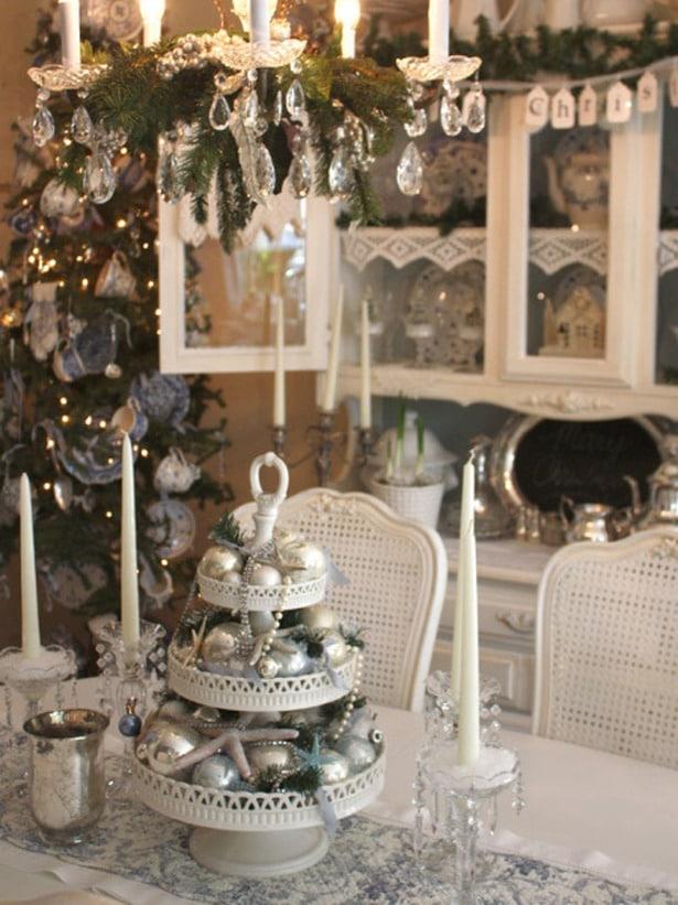 Winter Wonderland Table Centerpiece