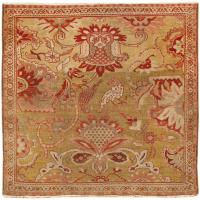 Antique Persian Sultanabad Rug 46411 Color Detail - By Nazmiyal