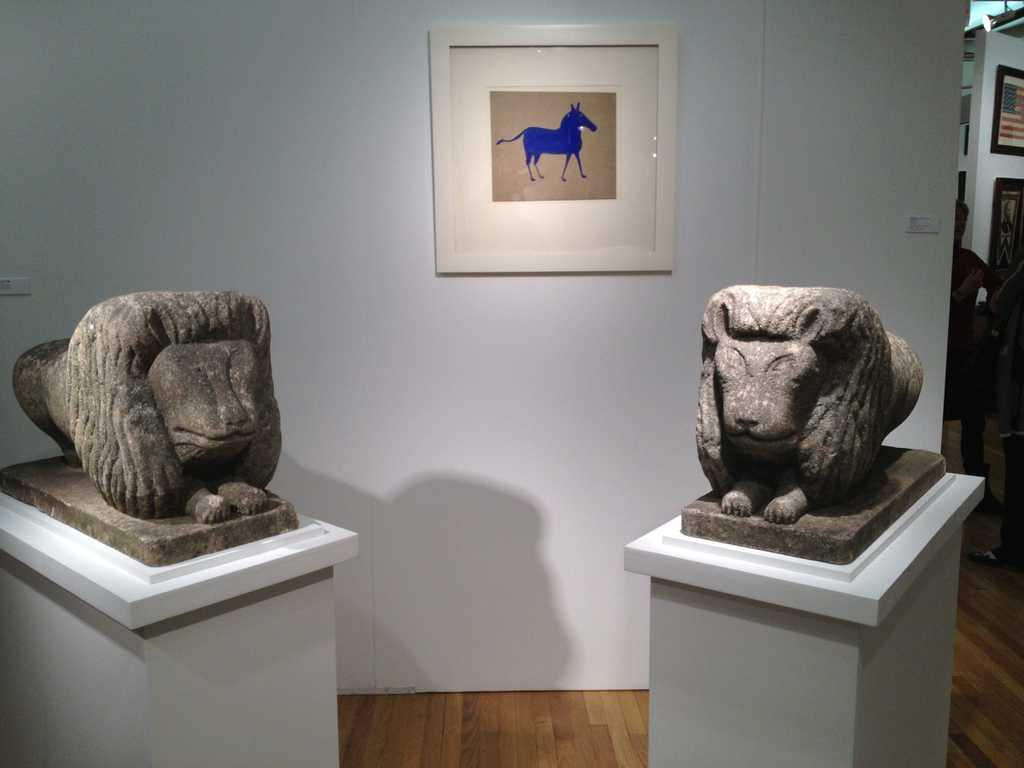 Hill Gallery Stone Lions
