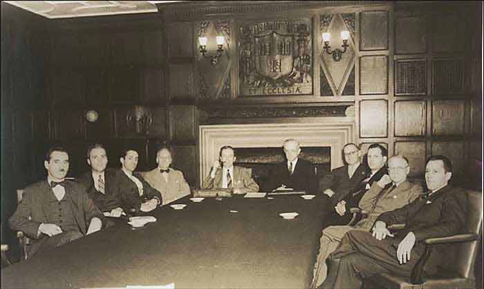 A Meeting of the Hajji Baba Club Circa 1940