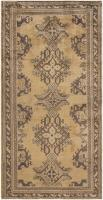 color 46585 Antique Ivory Background Oushak Carpet From Turkey 47443