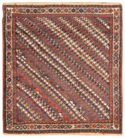 color 46741 Antique Persian Bakhtiari Carpet 46190