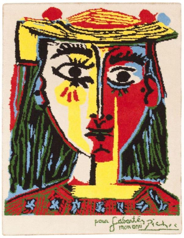 Vintage Pablo Picasso Rug