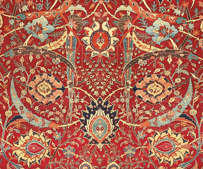 Investing In Rugs - This Is The $34,000,000 Persian Carpet
