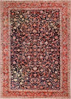 bidjar persian rug 46734 color Antique Bidjar Persian Sampler Rug 47377