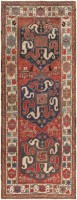 Antique Caucasian Kazak Rug 47077 Color Detail - By Nazmiyal