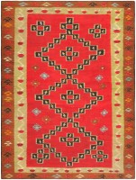 Antique Romanian Bessarabian Kilim 46918 Nazmiyal - By Nazmiyal