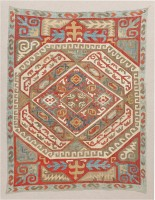 Antique Azerbaijan Textile 47367 Color Detail - By Nazmiyal