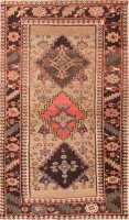 Antique Tribal Persian Bidjar Carpet 47494 Color Detail - By Nazmiyal