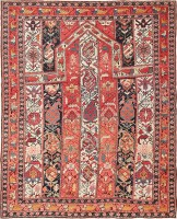 Antique Caucasian Marasali Shirvan Prayer Rug 47496 Color Detail - By Nazmiyal