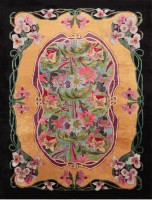 Antique Chinese Art Nouveau Rug 47582 Color Detail - By Nazmiyal