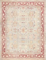 Beautiful Light Blue Antique Agra Carpet 47614 By Nazmiyal - By Nazmiyal