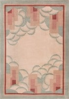 Beautiful French Art Deco Rug 47638 Color Detail - By Nazmiyal